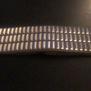 BCBG grey studded stretch belt
